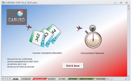 logiciel de chronometrage