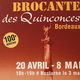 Brocante de Printemps de Bordeaux Quiconces 2018