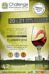 Challenge International du Vin 2018  Bordeaux