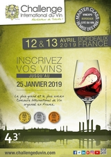 Challenge International du Vin 2019  Bordeaux