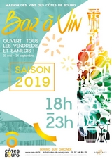 BOURG  : Afterwork bar à vin 2019