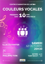 Spectacle Couleurs Vocales 2019 à Lanton