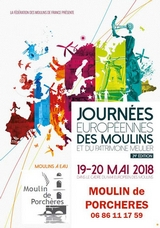 Journees europeenne moulin Porchères 2018