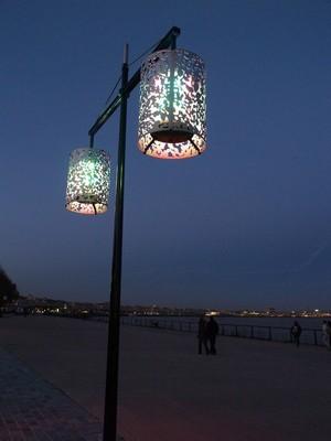 lampadaire quai bordeaux