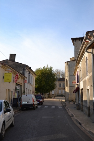 La commune de Vertheuil